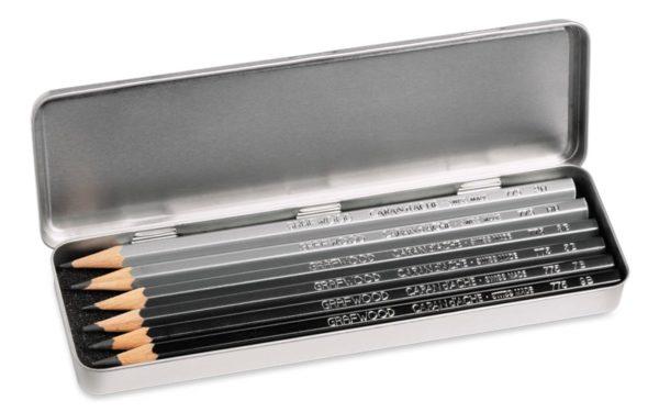 blyanter med navn