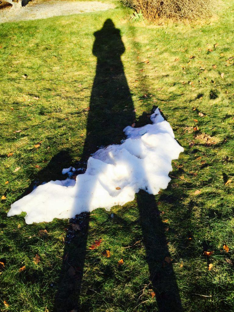 Tha last snow